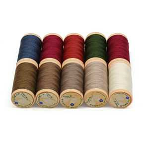 Threads for Patchwork, quilting, purse frame and bag handle